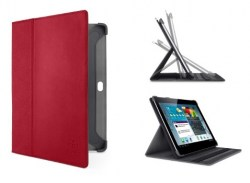 Etui, tablet, 10.1, Belkin, Tri-Fold, Folio, Red, do Galaxy, Tab2, F8M394CWC02, 722868885888